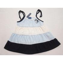 Vestido Corto Para Niña Bebe 3 Y 4 Años Mn4