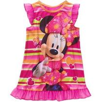 Pijama Vestido Disney Minnie Niña Talla 5 Envio Gratis