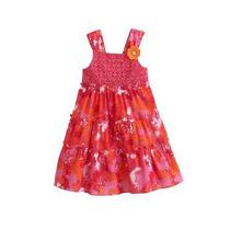 Vestido Rojo Para Niña 2t