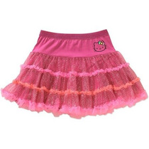 Falda Hello Kitty Americana Niña Talla 4-5 Envio Gratis