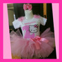 Tutus Hello Kitty! Playera Personalizada, Disfraz Fiesta