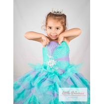 Vestido De Niña Para Fiesta O Pajecita - Para Presentación