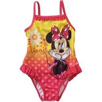 Traje De Baño Niña Bebe Disney Minnie 12 Meses Envio Gratis