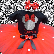 Hermosos Tutus Disfraz Minnie Mouse Fiesta Cumpleaños Tutu