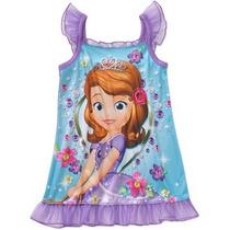 Pijama Vestido Disney Princesa Sofia Niña T4 Envio Gratis