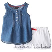 Ituxs I Nautica Conjunto De Camiseta Y Short I Envío Gratis