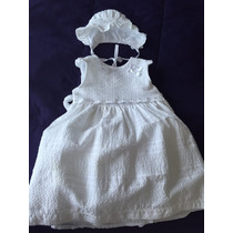 Vendo Hermoso Vestido De Bautizo Para Bebe Niña