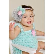 Preciosos Jumpers Rompers Encaje Lujo Bebe Niña Princesa
