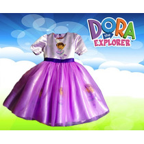 Vestido Dora La Exploradora Presentacion Princesas