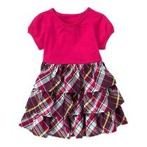 Vestido Para Bebé Niña Crazy 8 De Gymbore 3-6 Meses
