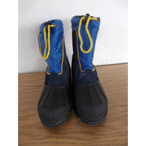 Botas Para Niños Frio Agua Nieve Talla 5 #a614