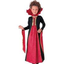Vampire Costume - Gothic Vampiress Grandes Niños Del Vestid
