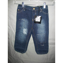 Pantalon De Mezclilla Para Niño Talla: 18 M $539.00ndd
