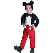 Niño 3-4t - Disneys Nueva Deluxe Traje De Mickey Mouse Para