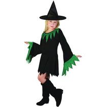 Traje De La Bruja - Gran Chicas Niños Niños De Halloween F