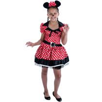 Minnie Mouse Traje - Los Niños Del Vestido De Lujo De Las M