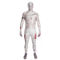 Mummy Costume - Morphsuit Niños Childs L Horror Zombie