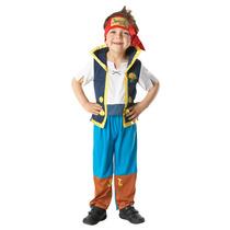Traje Pirata - Jake The Small Disney Niños Del Vestido De L