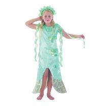 Sirena Traje - Childrens Niños Aérea Del Vestido De Lujo