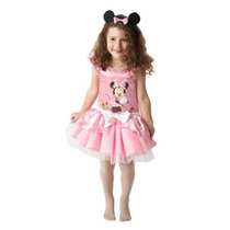 Minnie Mouse Disfraces - Mini Pink Ballerina Niño Niños