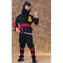 Ninja Costume - Niños Guerrero Samurai Vestido De Lujo De G