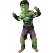 Hulk Traje - Niños Childrens Grande Marvel Comic Book El