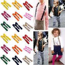 Tirantes Suspenders Para Niños Unisex