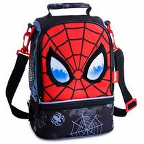 Práctica Lonchera Termica De Spiderman -disney Store Marvel-