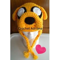 Gorro Jake La Hora De La Aventura Tejido Crochet Fn4
