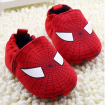 Zapatos Spiderman Bebe #11 Suela Suave