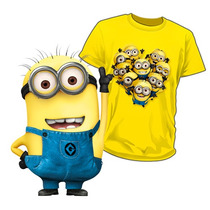 Playeras Minions Estampadas A Todo Color
