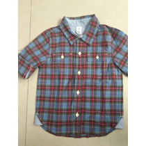 Camisa 12-18 Meses 100 Algodon Marca Gap Americana