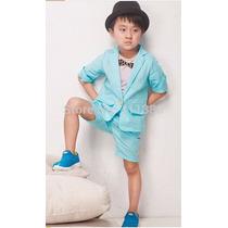 Ropa Para Niño Casual Elegante Moda Asiática Envio Gratis