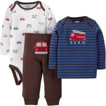 Camisa Pantalón Pañalero Carters Recien Nacido Envio Gratis
