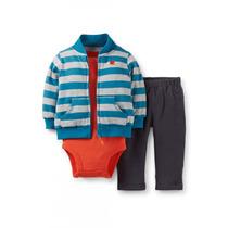 Conjunto Set Carters Pants 3 Piezas Bebé Niño Nuevo Original