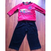 Pijama Cars Para Niño Talla 3 Años Caliente