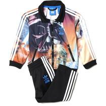 Conjunto Pants Con Sudadera Star Wars Bebe Adidas Ab1845