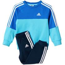 Conjunto Pants Con Sudadera Crew Jogger Bebe Adidas Ab7001