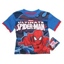 Playera Para Niño Spiderman Talla: 2t