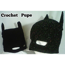Gorro Batman-peque Crochet
