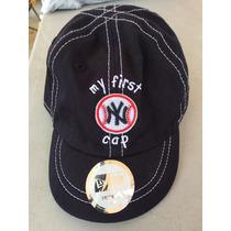 Gorra, Boina, Cachucha Bebe Yankees De Nueva York Original