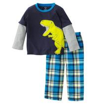 Pijama Para Niño Con Dinosaurio Carters 18 Meses