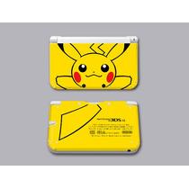 Skin 3ds Xl Pokemon Edicion Especial Pikachu X Y