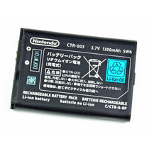 Bateria Pila Original Ctr-003 Para 3ds Y Wiiu Pro Controller