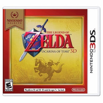 The Legend Of Zelda Ocarina Of Time 3d - Nintendo 3ds