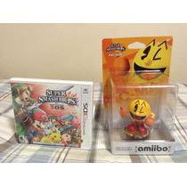 Super Smash Bros Para Nintendo 3ds Nuevo + Amiibo