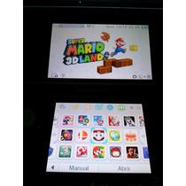 Consola Nintendo 3ds Roja Cfw Chip Virtual Juego Zelda Smash