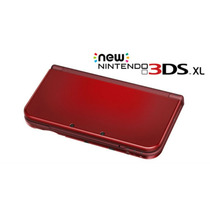New Nintendo 3ds Red And Black
