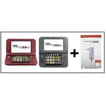 New 3ds Xl+ Cargador + Envio Gratis Red And Black