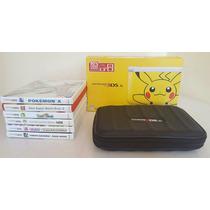 Nintendo 3ds Xl Edición Especial De Pikachu (incluye Juegos)